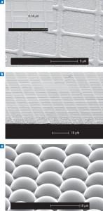 OLED Grid Closeups