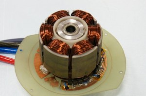 Tokai U's High Efficiency DC Motor. Click image for a larger view.