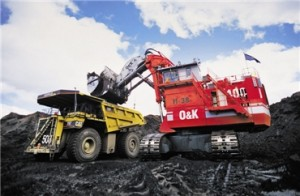 Oil Sands Being Loaded