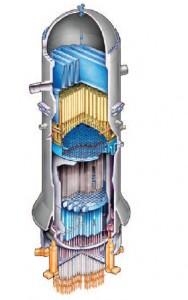 Hitachi Reactor Cutaway View