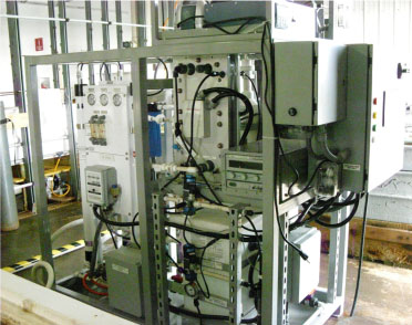 Electrochemical Acidification Carbon Capture Skid. Click image for more info.
