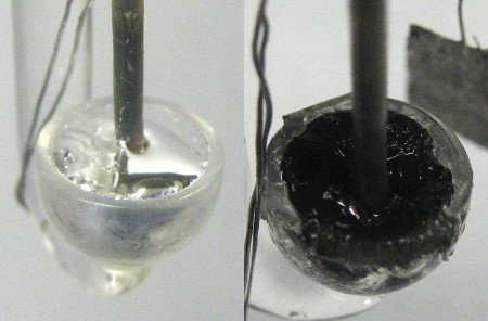 Making Silicon Crystals in Liquid Metal at Record Low Temps. Click image for the largest view. Image Credit: The University of Michigan