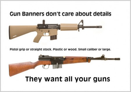 Sample Assault Rifles With Their Catchy Look.  Click image for the largest view.