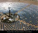 Solar Tower Mojave Desert