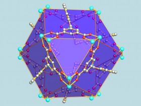 A Methane Cage of Nano-sized Crystals