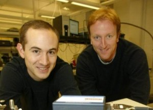 Princeton Researchers Franz and Menzel