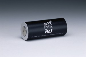 A123Systems M1 Nanophosphate Cell
