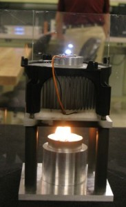 Candle Drives An LED