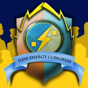 The Logo For The New Energy Congress