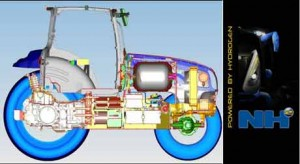 A Layout for the New Holland Fuel Cell Tractor