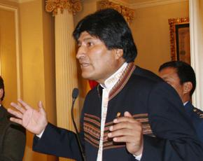 Bolivia's Evo Morales