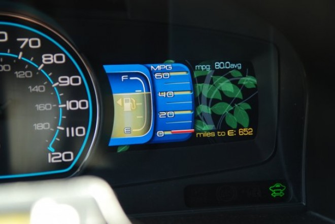 2010 ford fusion hybrid dashboard
