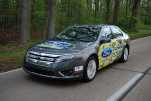 Ford's Record Setting Fusion Hybrid Model