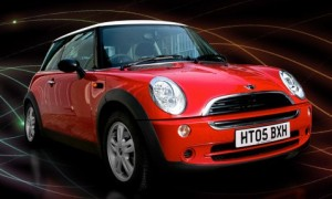 Synergy Innovations Mini Cooper E-Drive.  Click image for the largest View.