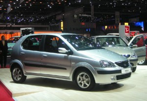 Tata Indica. Click image for the largest view.