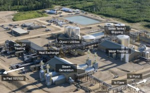 ConocoPhillips Surmont SAGD Facility. Click image for the largest view.