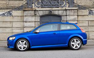 Volvo C30 BEV In Blue