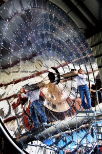 Sandia's Solar Furnace. Click image for more info.