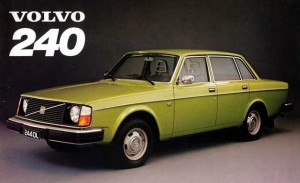 Volvo1975 Model 240. Click image for the largest view.