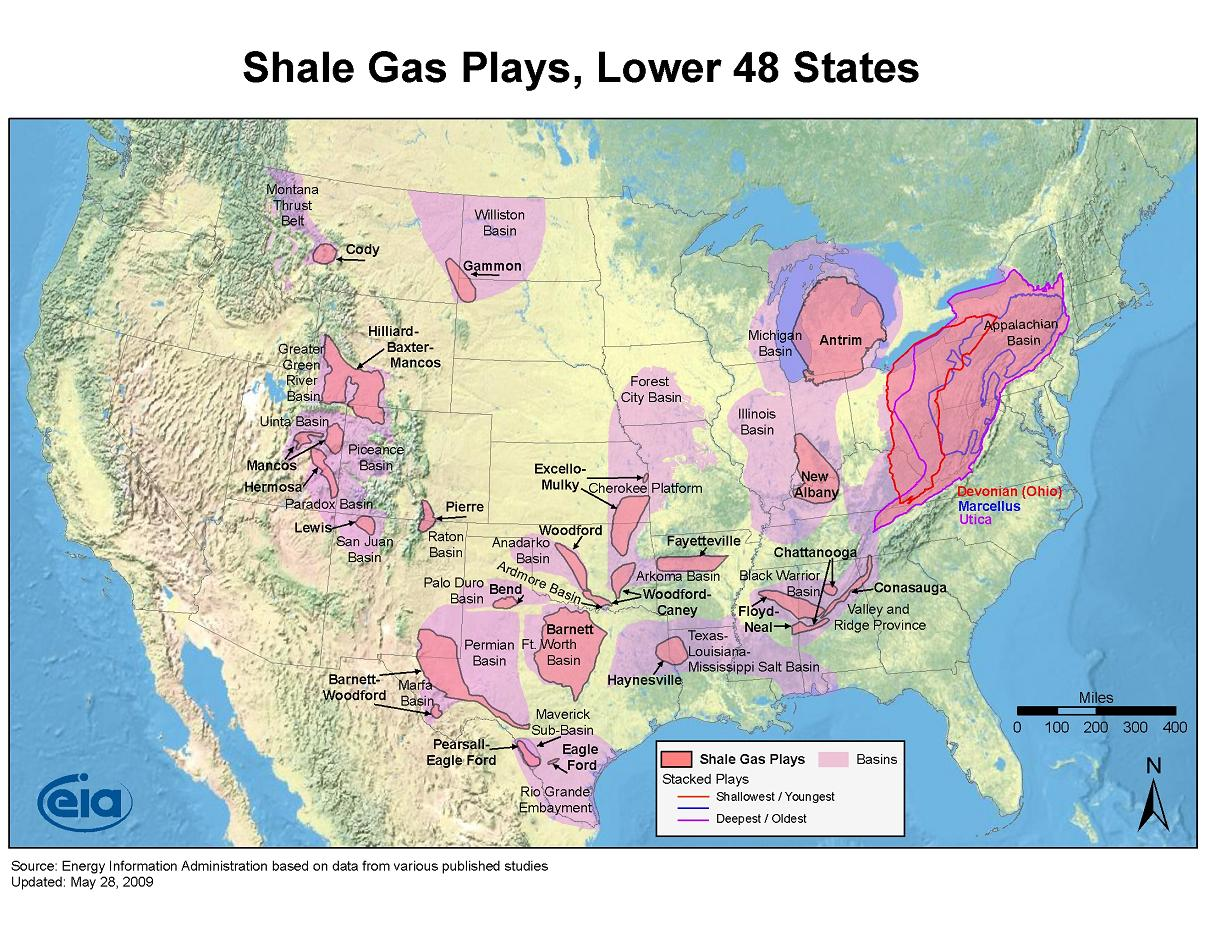 Largest Natural Gas Shale In Us