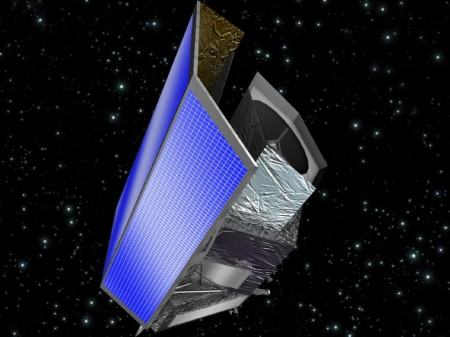 Euclid by Artistic Impression.  Image Credit NASA. Click image for the largest view.