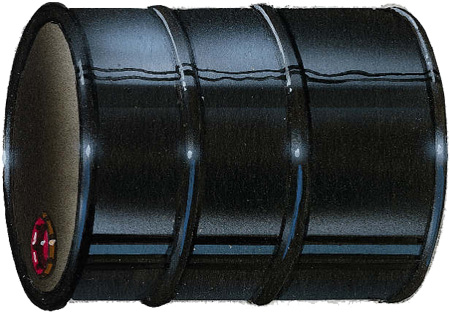 Symbolic Barrel of Oil. Click image for the largest view.