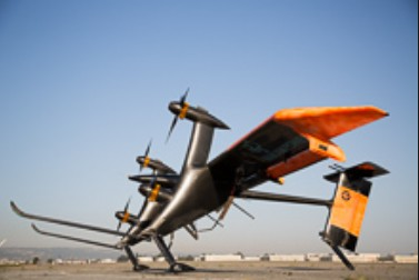 Mikani Airframe with Four Turbines. Click image for the largest view.