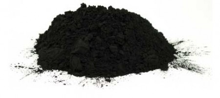 Powdered Charcoal Sample.  Click image for the largest view.