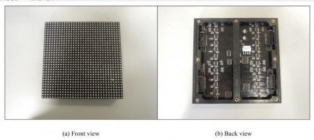 Multi-level Pulse-Width Modulation LED Sample. Click image for the largest view.
