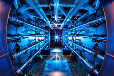 National Ignition Facility Laser Reamplifier.  Click image for more info.
