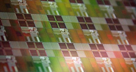 Optical Modulator Chips will be extremely energy efficient computing and a continued skyrocketing of computing speed into the future. Image Credit: University of Colorado at Boulder. Click image for the largest view.