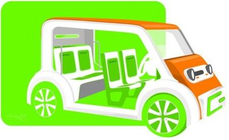 Birmingham City University Vehicle Concept.  Image Credit Birmingham City University.  Click image for the largest view.