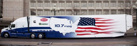 DOE SuperTruck With ATDynamics Techology. Click iamge for the largest view.