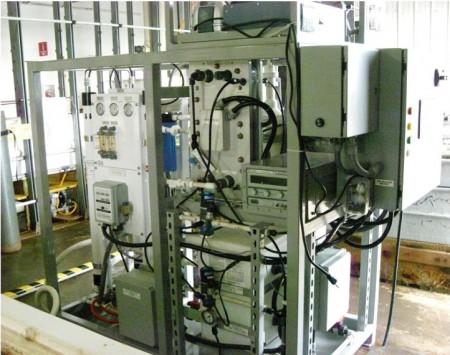 Seawater Hydrogen Cell Skid Platform USN.  Click image for more info.