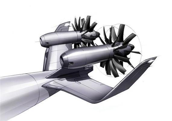 Counter Rotating Propellers : Propeller type planes could save of fuel
