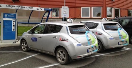 The EU-funded research project EM Safety is the most comprehensive study yet carried out to identify different sources of magnetic fields in electric cars. Image Credit: Trondheim Kommune.  Click image for the largest view.