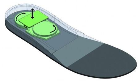 Energy Generating Shoe Insole.  Image Credit: Courtesy of Investigación y Desarrollo
