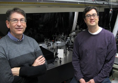 Marcus and Lonergan with Spectroscopy Imager.  Click image for the largest view.