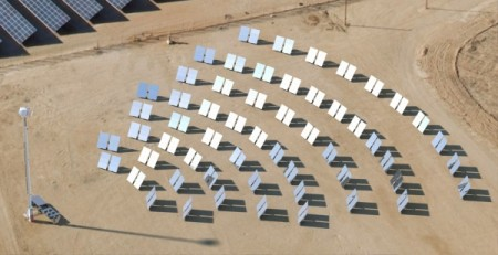 RayGen's CSPV Power Station. Image Credit: RayGen Resources, Pty Ltd. Click image for the largest view.
