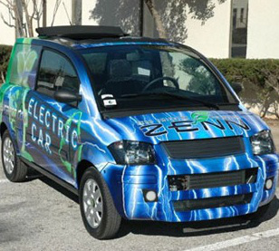 Zenn Car Prototype. Click image for the largest view.