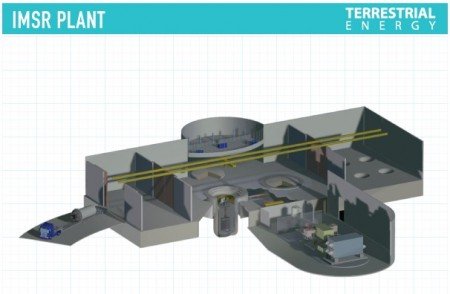 TEI IMSR Plant View. Image Credit TEI.  Click Image for the largest view.