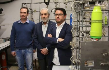 Manuel Martínez Escandell, Francisco Rodríguez Reinoso and Joaquín Silvestre Albero.  Image courtesy of Asociación RUVID. Click image for the largest view.