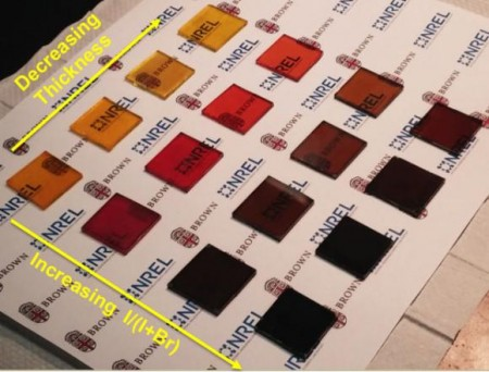 New Process Making Pervoskite Solar Cell Samples.  Click image for more info.