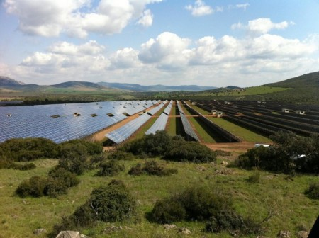 Photovoltaic Park Puertollano Spain.  Image Credit: Rebecca R. Hernandez.  Click image for the largest view.
