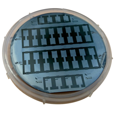 Researchers from Drexel and Paul Sabatier University in France have reported a method for embedding a supercapacitor energy storage device in the silicon wafer of a microchip. Image Credit: Drexel University. Click image for the largest view.